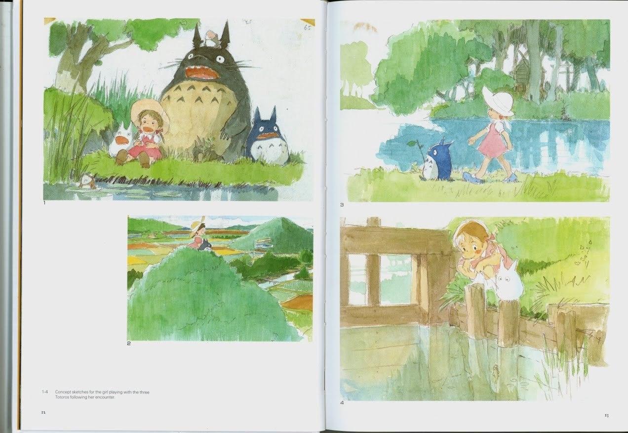 The Art of My Neighbor Totoro by Hayao Miyazaki image