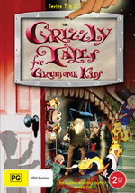 Grizzly Tales For Gruesome Kids - Series 1 And 2 (2 Disc Set) on DVD