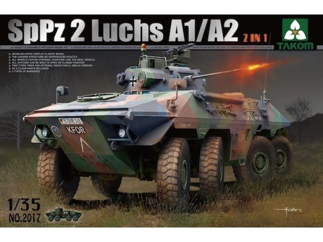 Takom: SpPz 2 Luchs A1/A2