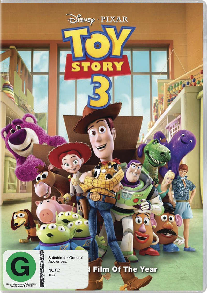 Toy Story 3 on DVD image