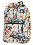 DC Comics: Wonder Woman - All Over Print Backpack