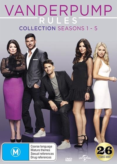 Vanderpump Rules Collection (Seasons 1-5) on DVD