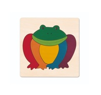Hape: Rainbow Frog Puzzle