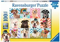 Ravensburger : Doggy Disguise Puzzle 100pc