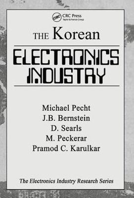 The Korean Electronics Industry by Michael Pecht image