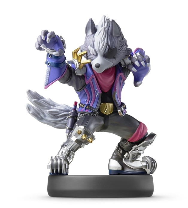 Nintendo Amiibo Wolf - Super Smash Bros Ultimate for
