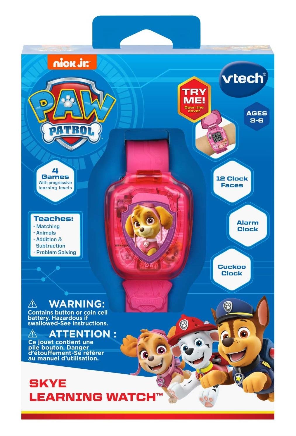 Vtech: Paw Patrol Learning Watch - Skye image