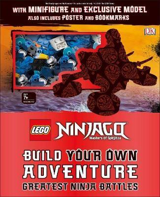 LEGO NINJAGO Build Your Own Adventure Greatest Ninja Battles by DK image