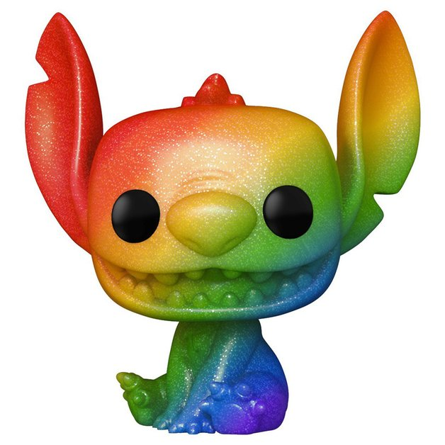 Pride 2021 - Stitch (Rainbow/Diamond Glitter) - Pop! Vinyl Figure