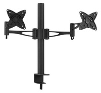 Brateck Dual LCD Monitor Table Stand with Arm & Desk Clamp