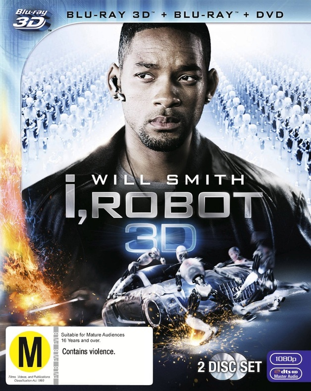 I, Robot on Blu-ray, 3D Blu-ray