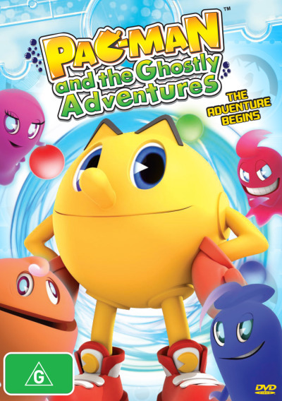 Pac-Man & the Ghostly Adventures: The Adventure Begins on DVD