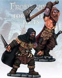 Frostgrave Barbarian Thief & Berserker