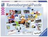 Ravensburger: World Travel Memories - 1000pc Puzzle