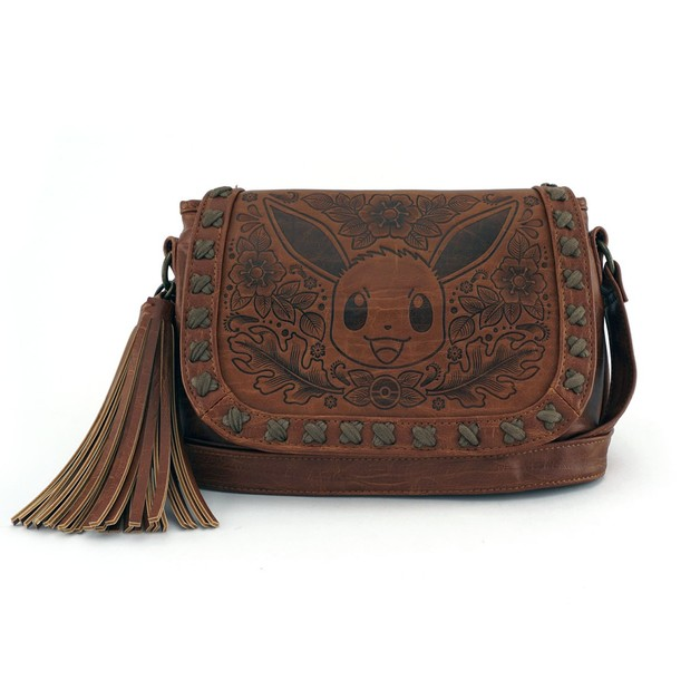 Loungefly Pokemon Eevee Embossed Crossbody Bag