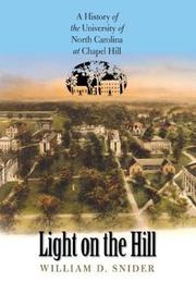 Light on the Hill by W.D. Snider