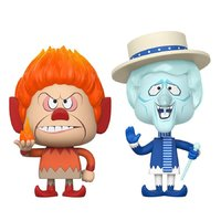 Heat Miser + Snow Miser - Vynl. Figure 2-Pack