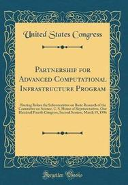 Partnership for Advanced Computational Infrastructure Program by United States Congress