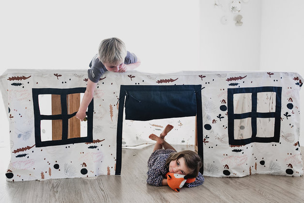 CubbyTime - Fabric Play House