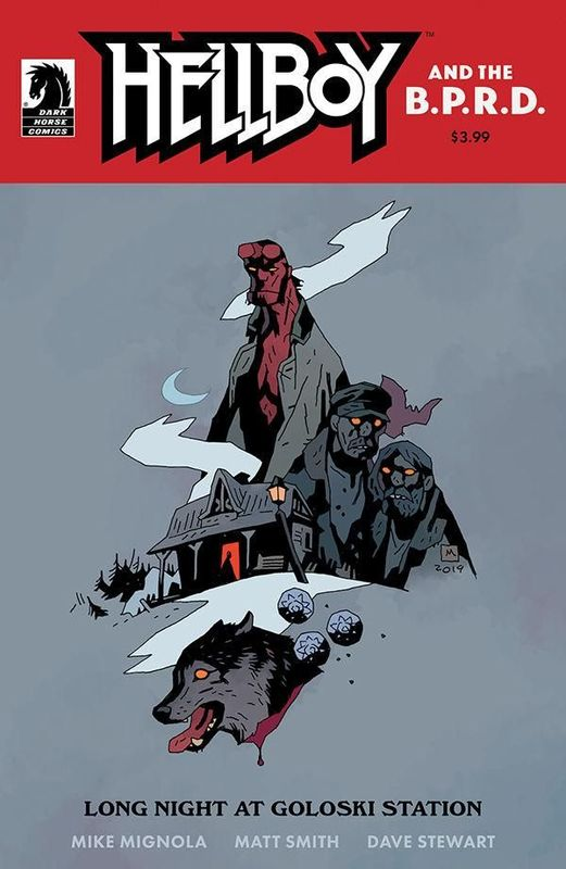 Hellboy & The BPRD: Long Night At Goloski Station - (Cover A) by Mike Mignola