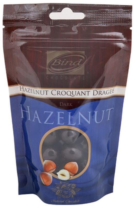Bind Chocolates: Dark Chocolate Coated Dragee - Hazelnut