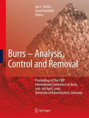 Burrs - Analysis, Control and Removal image
