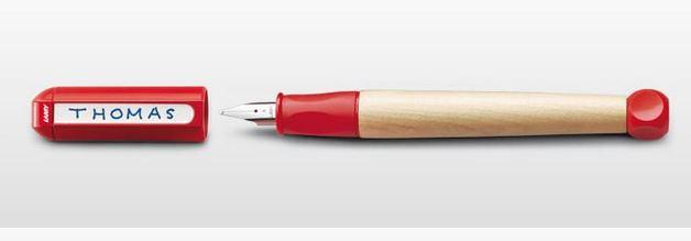 Lamy abc Fountain Pen - Red