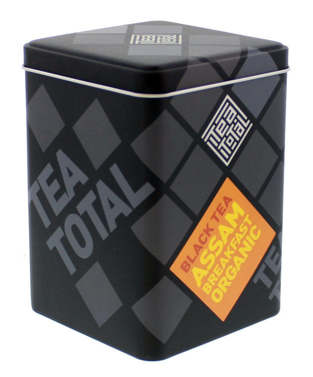 Tea Total - Assam Organic Breakfast Tea (100g Tin)