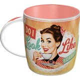 Say it 50's Mug - Do I Look Like I Care?