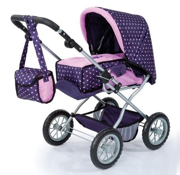 Bayer: Combi Grande Doll's Pram - Purple