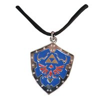 The Legend of Zelda Metal Shield Charm Necklace