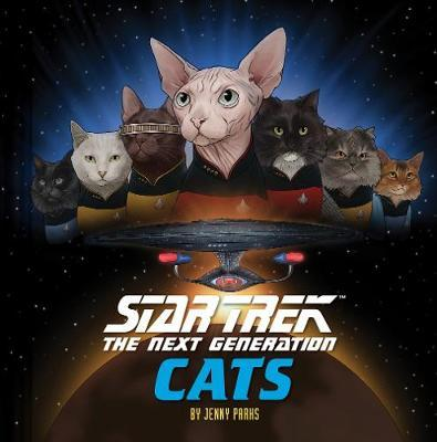 Star Trek: The Next Generation Cats by Jenny Parks