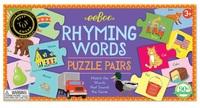 eeBoo: Rhyming Words - Puzzle Pairs