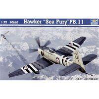 Trumpeter 1/72 Hawker Sea Fury FB.11 - Scale Model