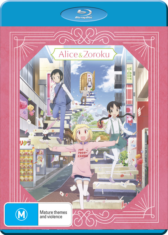 Alice And Zoroku Complete Series on Blu-ray