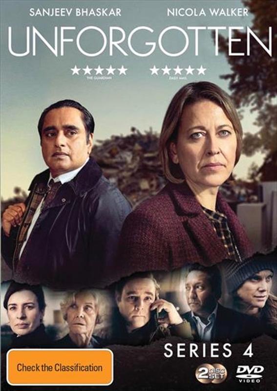 Unforgotten: Series 4 on DVD