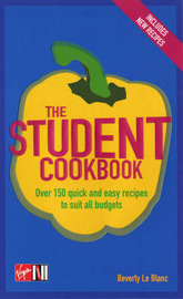 The Student Cookbook by Beverly Le Blanc image