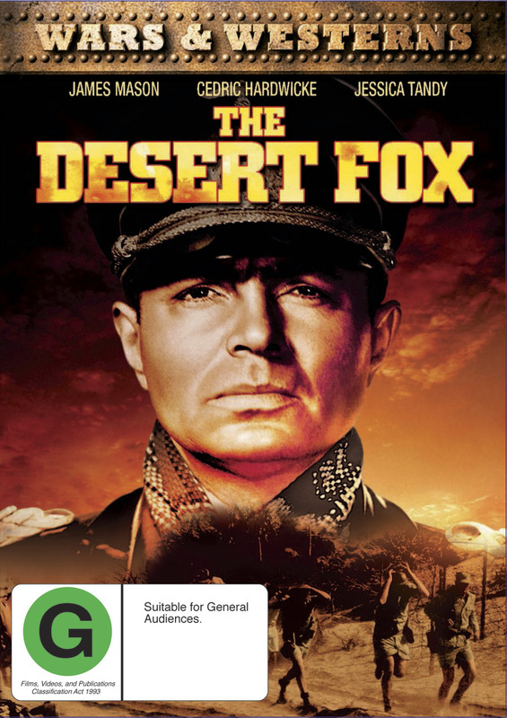 The Desert Fox on DVD