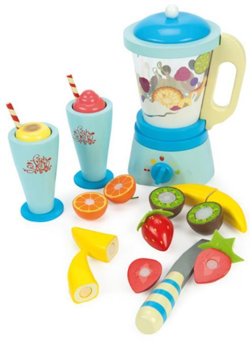 Le Toy Van: Honeybake - Wooden Blender Set 'Fruit and Smooth' image