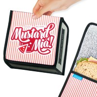 Fast Food Sandwich Pouch - Pizza Box