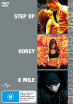 Step Up / Honey / 8 Mile - 3 DVD Collection (3 Disc Set) on DVD