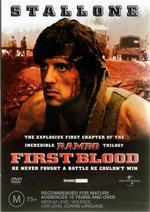 Rambo - First Blood on DVD