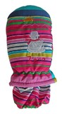 Mountain Wear: Carnival Stripe Zero Kids Mittens (Medium)