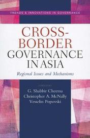 Cross-border governance in Asia by United Nations University