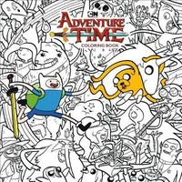Adventure Time Adult Coloring Book Volume 1 by Cartoon Network