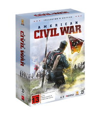 American Civil War Collector's Edition on DVD