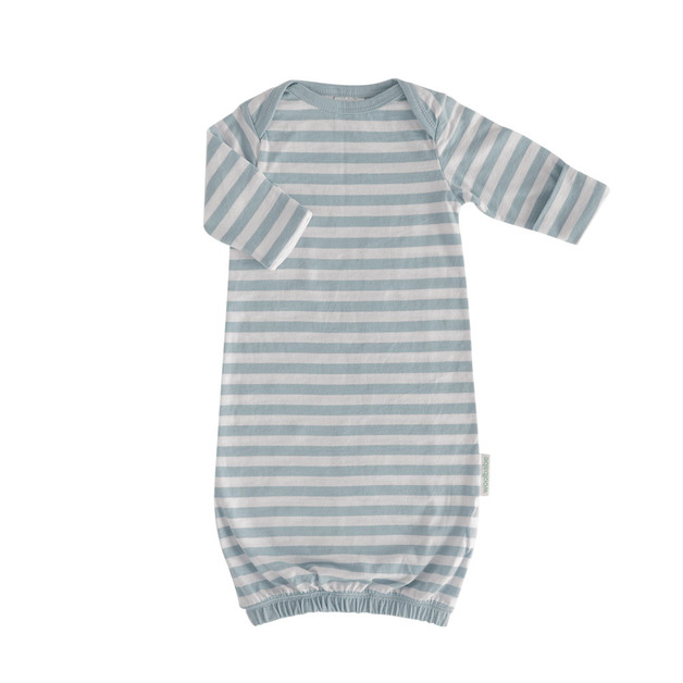 Woolbabe: Merino/Organic Cotton Gown Tide Newborn