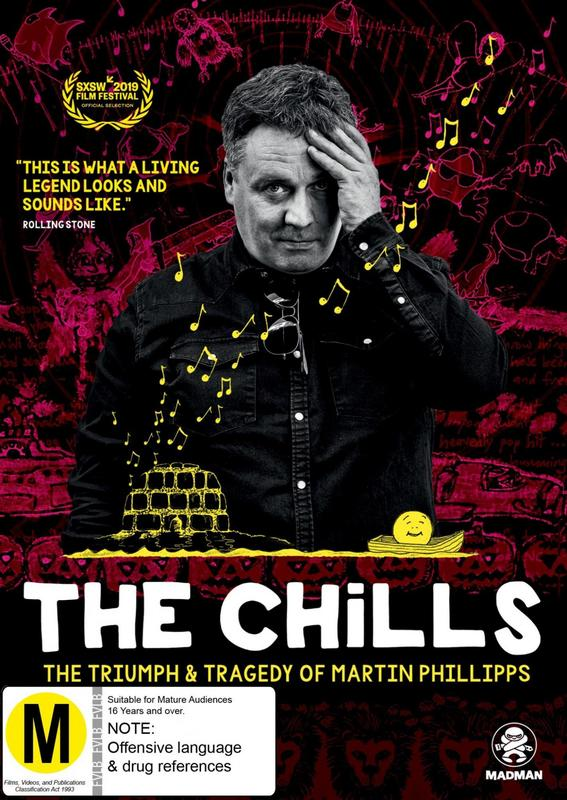 The Chills: The Triumph & Tragedy of Martin Phillipps on DVD