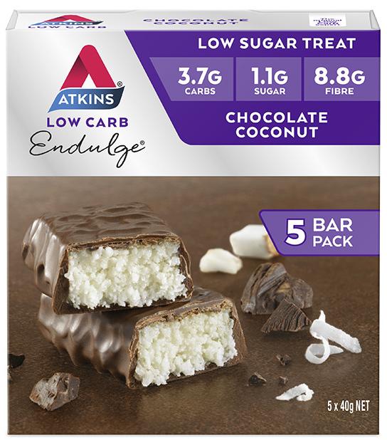 Atkins Endulge Bars - Chocolate Coconut (Box of 5) image