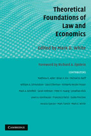 Theoretical Foundations of Law and Economics image